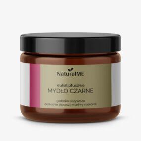 Mydło czarne eukaliptusowe – NaturalMe – 200 ml