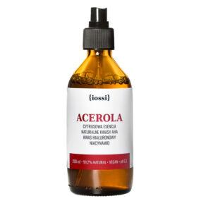Acerola. Cytrusowa Esencja zkwasami AHA, kwasem hialuronowym iniacynamidem – Iossi – 200 ml