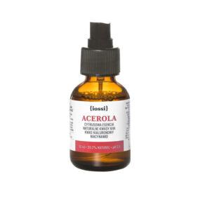 Acerola. Cytrusowa Esencja zkwasami AHA, kwasem hialuronowym iniacynamidem – Iossi – 50 ml