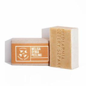 Mydło peelingujące MELISA DYNIA – 4 Szpaki – 110 g