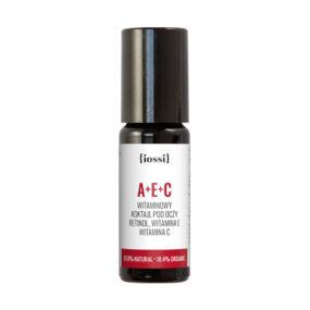 A+E+C Witaminowy koktajl podoczy zRetinolem, witaminami E iC – Iossi – 10 ml