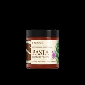 Oczyszczająco peelingująca pasta domycia twarzy – Bosphaera – 100 g