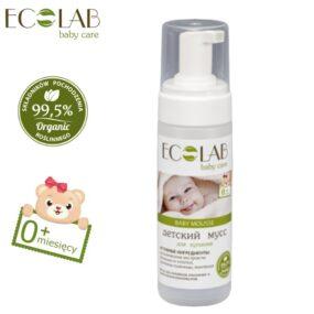 Mus dokąpieli dla dzieci organiczny bezkonserwantów od0+- Eco Laboratorie – 150 ml