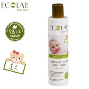 Płyn dokąpieli dla dzieci od1+ bezłez – Eco Laboratorie – 250 ml