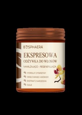 Ekspresowa odżywka dowłosów nawilżająco – regenerująca – Bosphaera – 200 g