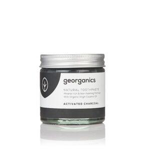 Pasta dozębów naturalna, mineralna WĘGIEL AKTYWNY – Georganics – 60 ml