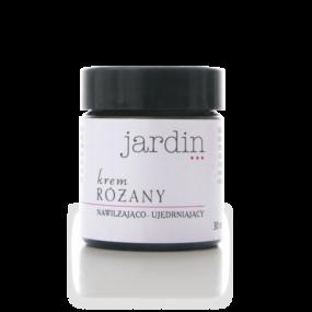 Krem RÓŻANY nawilżająco – ujędrniający – Jardin – 30 ml – termin ważności 06.2021