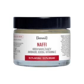 Krem nawilżający NAFFI Awokado & Jojoba – Iossi – 50 ml