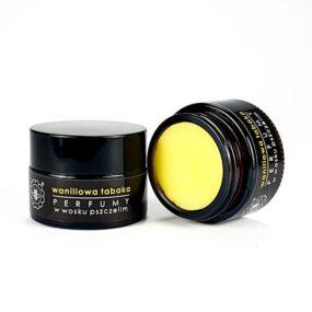 Perfumy wwosku pszczelim – WANILIOWA TABAKA – Miodowa Mydlarnia – 15 g