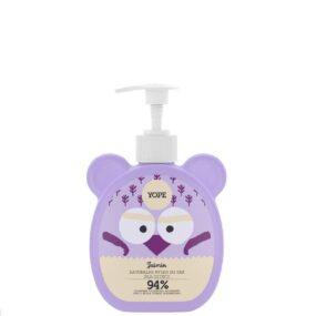 Mydło wpłynie dla dzieci JAŚMIN – Yope – 400 ml