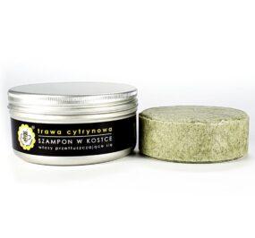 Szampon wkostce – TRAWA CYTRYNOWA – Miodowa Mydlarnia – 70 g