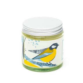 Naturalna świeca sojowa, kwiatowa BOGATKA – 4 Szpaki – 100 g