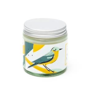 Naturalna świeca sojowa, cytrynowa PLISZKA – 4 Szpaki – 100 g