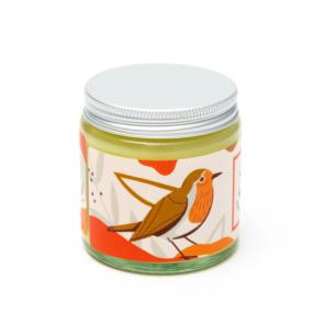 Naturalna świeca sojowa, korzenna RUDZIK – 4 Szpaki – 100 g