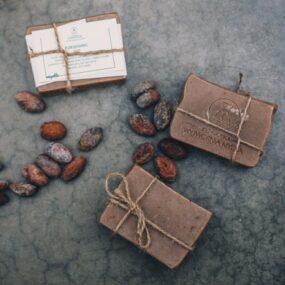 Mydło naturalne kakaowe KAKAOWIEC – Bydgoska Wytwórnia Mydła – 85 g
