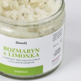 Peeling dociała odświeżający ROZMARYN ILIMONKA – Iossi – 250 ml