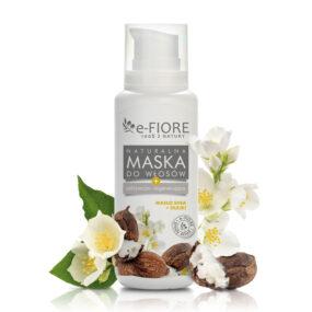 Maska dowłosów zniszczonych naturalnie odżywcza MASŁO SHEA iOLEJE – e-Fiore – 200 ml
