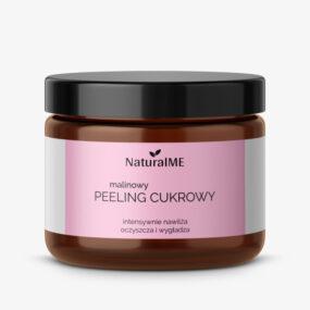 Peeling cukrowy MALINOWY – NaturalMe – 200 ml