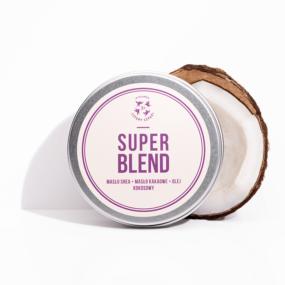 Masło dociała SUPER BLEND – shea + kakao + kokos – 4 Szpaki – 150 ml