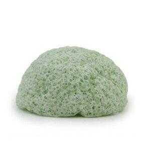 Gąbka Konjac dotwarzy Zielona Herbata – Bebevisa