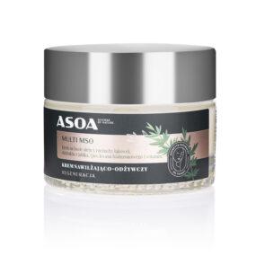 Krem nawilżająco-odżywczy MULTI MSO – Asoa – 50 ml