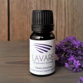 Olejek eteryczny zLAWENDY LEKARSKIEJ – Lavare – 10 ml