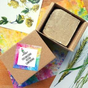 Podchmielona kostka szamponowa – Nowa Kosmetyka – 75 g