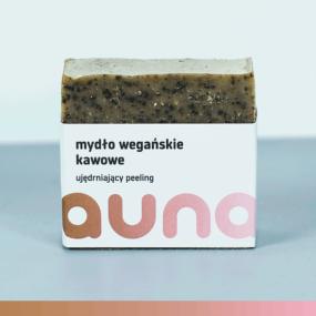 Mydło wegańskie KAWOWE – Auna – 100 g