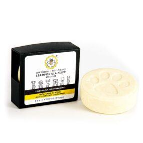 Szampon dla psów wkostce OWSIANO-MIODOWY – Miodowa Mydlarnia – 80 g