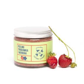 Peeling TRUSKAWKA IWERBENA – 4 Szpaki – 250 ml
