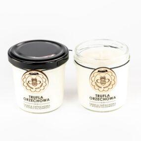 Świeca sojowa – TRUFLA ORZECHOWA – Miodowa Mydlarnia – 120 ml