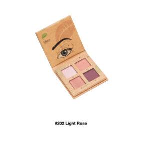 Paleta Naturalnych Cieni doPowiek #202 LIGHT ROSE – Felicea – 3,2 g
