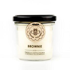 Świeca sojowa – BROWNIE – Miodowa Mydlarnia – 120 ml