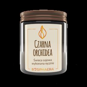Świeca sojowa CZARNA ORCHIDEA – Bosphaera – 190 g