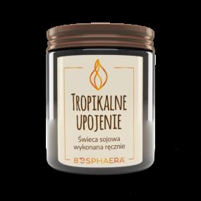Świeca sojowa TROPIKALNE UPOJENIE – Bosphaera – 190 g