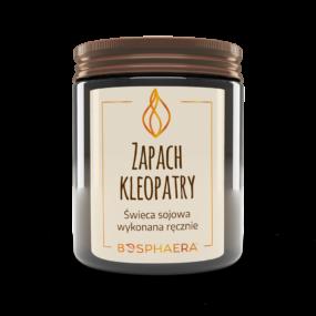Świeca sojowa ZAPACH KLEOPATRY – Bosphaera – 190 g