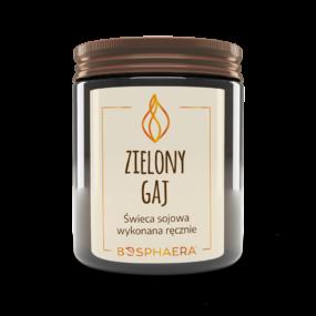 Świeca sojowa ZIELONY GAJ – Bosphaera – 190 g