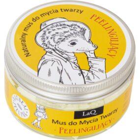 Mus domycia twarzy peelingujący – LaQ – 100 ml