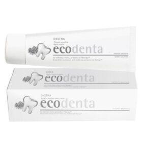 Pasta dozębów potrójny efekt zbiałą glinką, propolisem iTEAVIGO – Ecodenta – 100 ml