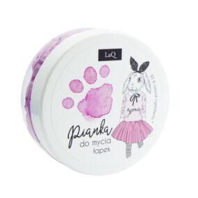Pianka domycia łapek różowa – LaQ – 50 ml