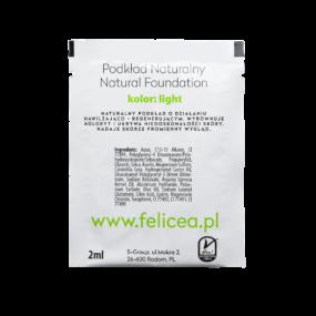 Tester Naturalnego Podkładu 131 LIGHT – Felicea – 2 ml