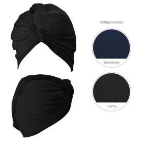 Turban Wrap It Up czarny – Anwen