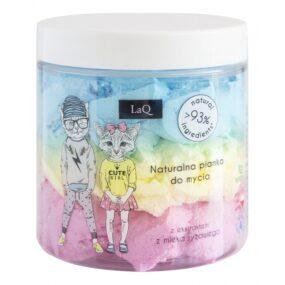 Myjąca pianka dla dzieci 3 kolory – LaQ – 250 ml