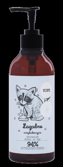 Naturalne mydło dorąk antybakteryjne HERBATA – Yope – 400 ml
