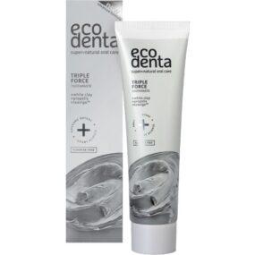 Pasta dozębów opotrójnym działaniu zbiałą glinką, propolisem iTEAVIGO – Ecodenta – 75 ml