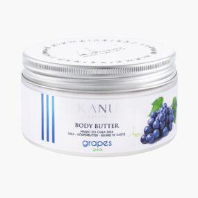 Masło dociała WINOGRONO GRECKIE – Kanu Nature – 190 g