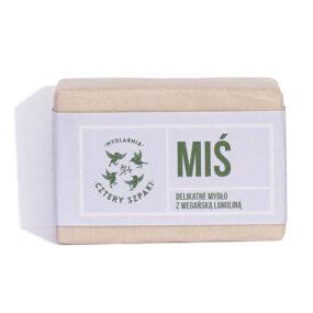 Mydło MIŚ zwegańską lanoliną – 4 Szpaki – 110 g