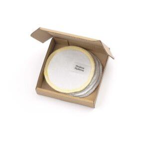 Płatki kosmetyczne wielorazowe BASIC – Miodowa Mydlarnia – 4 szt.