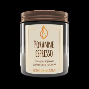 Świeca sojowa PORANNE ESPRESSO – Bosphaera – 190 g