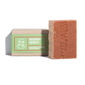 Mydło TRUSKAWKA iWERBENA – 4 Szpaki – 110 g